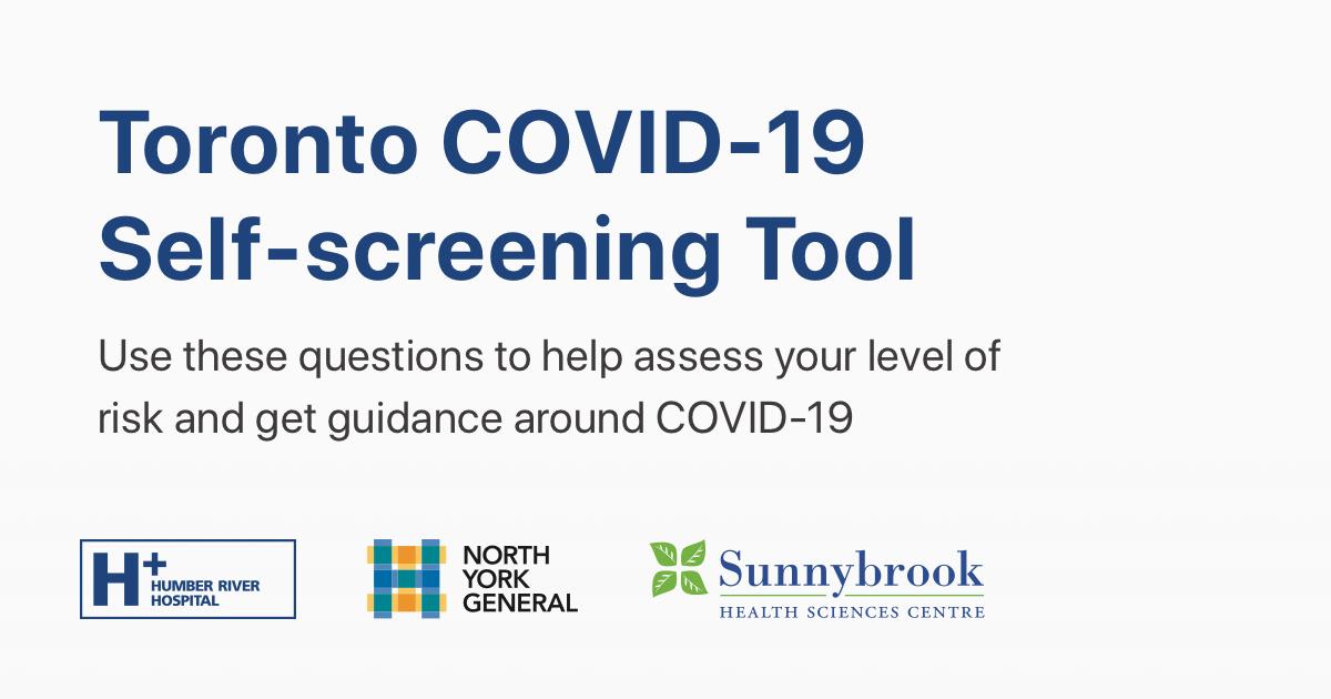 Covid 19 Self Assessment Tool